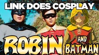 Link Does COSPLAY! Robin & Batman Cosplay in Breath of the Wild | Austin John Plays