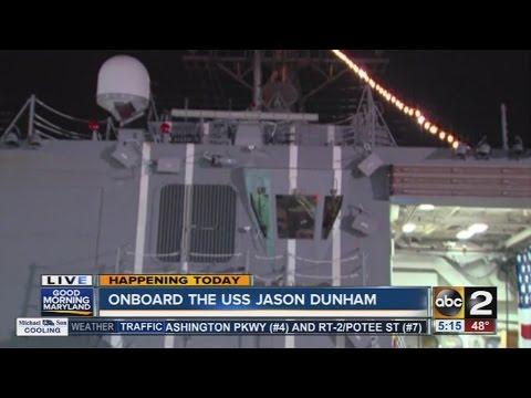 Previewing the USS Jason Dunham for Maryland Fleet Week