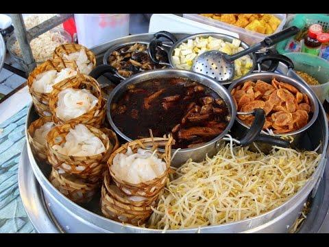 THAILAND -  KOH SAMUI (PART 2) -  FOOD MARKET AND  RESTAURANTS IN THAILAND