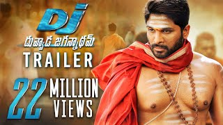 Video DJ Duvvada Jagannadham Trailer - Allu Arjun, Pooja Hegde | Harish Shankar | Dil Raju - #DJTrailer download MP3, 3GP, MP4, WEBM, AVI, FLV Juni 2017