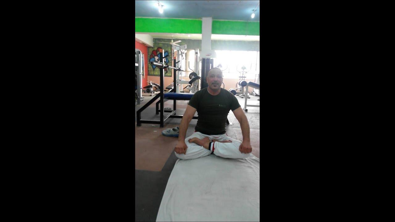 yoga علي يوغا حركه رياضيه خطرة