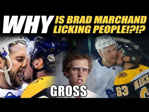 WHY is Brad Marchand Licking People?