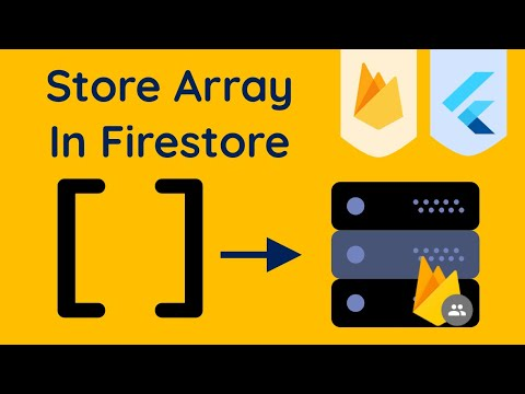 Save Data To Firestore With Arrays Using Flutter