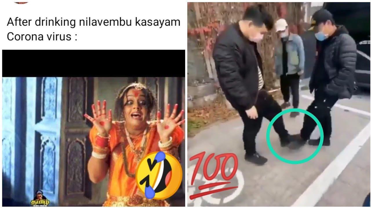corona tamil memes