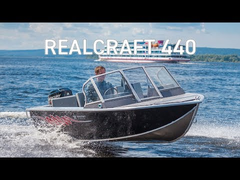 RealCraft 440. Моторная