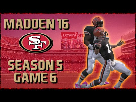 Madden 16 Franchise: San Francisco 49ers | Year 5, Game 6 @ Bengals