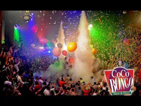 Brasil esta presente no Coco Bongo - Cancun - Mexico HD