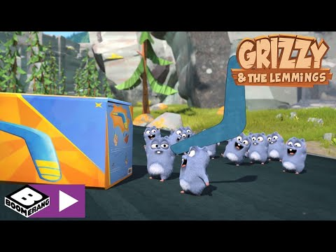 Grizzy and the Lemmings | Target Bear | Boomerang Africa