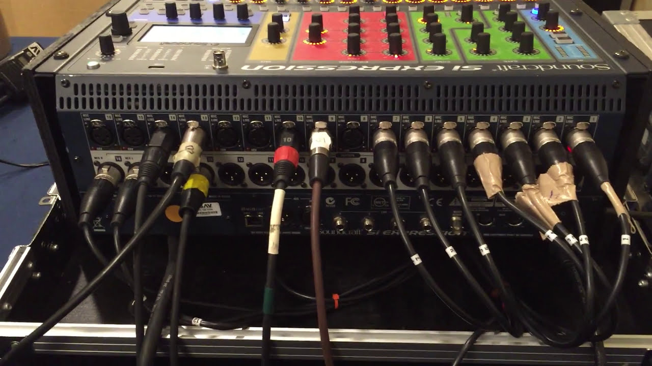 Soundcraft Si Expression Stereo Output Mono Patching To Synthesizer Tutorial General Input Info