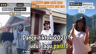 Download lagu Tutorial dance tiktok 2020 + judul lagu || part 3