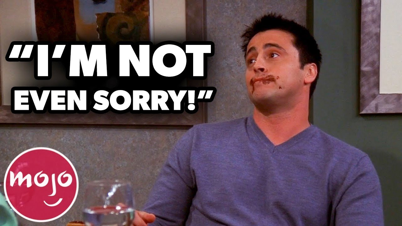 16 priceless Joey Tribbiani quotes that will help you