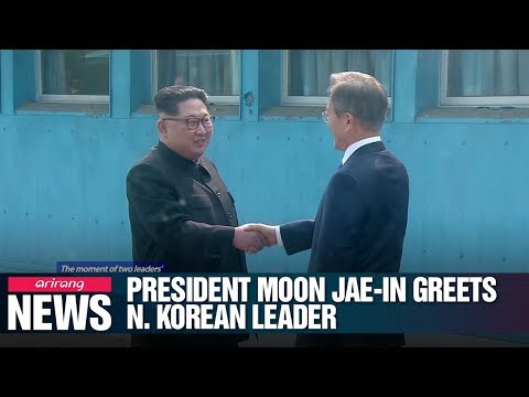 [2018 Inter-Korean Summit] The moment of two leaders' historic meeting