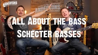 All About The Bass - Schecter Basses