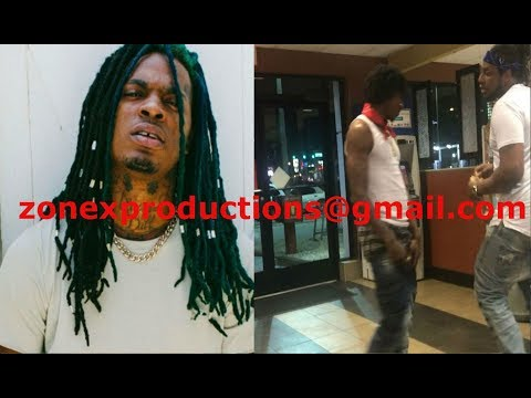 Atlanta Rapper Dae Dae Love life Crips BEAT UP a blood gang member for wearin red in 4thward