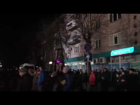 Волинь Post: У Ковелі разом з Президентом співають Гімн України