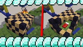 КОМАНДА СИНИХ ОЧЕНЬ ХОРОШО ЗАКРЫЛА СВОЮ КРОВАТЬ! - (Minecraft Bed Wars)