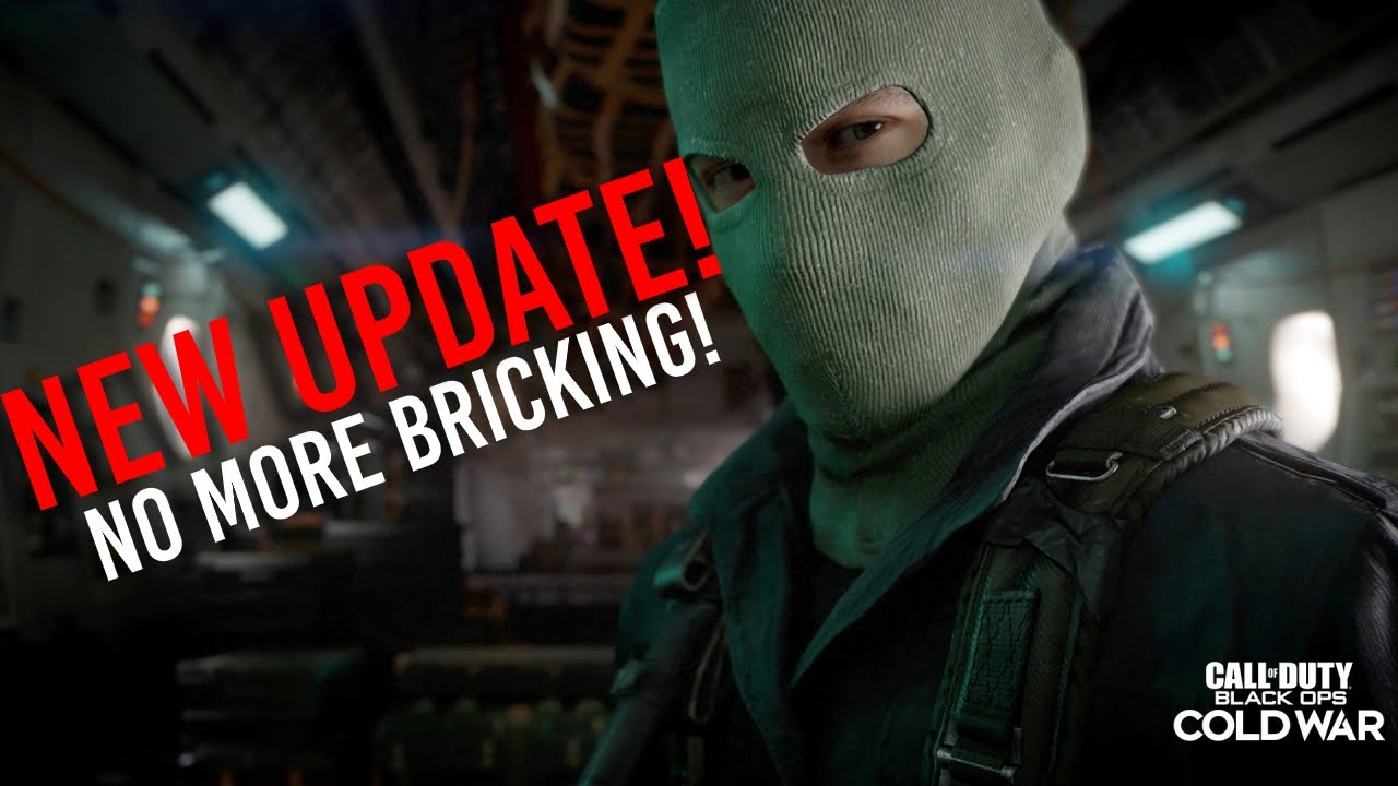 Black Ops Cold War NEW UPDATE! NO MORE BRICKING!