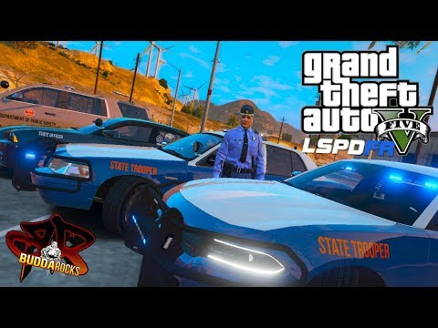 """""""Devil Went Down To Georgia""""◆GSP Patrol◆LSPDFR GTA 5 Real Life Highway Patrol Mods◆Grand Theft Auto"""