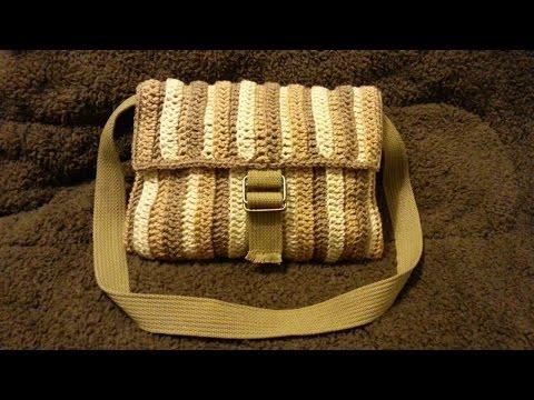 CROCHET How to #Crochet Shoulder Bag purse #TUTORIAL #202 LEARN CROCHET