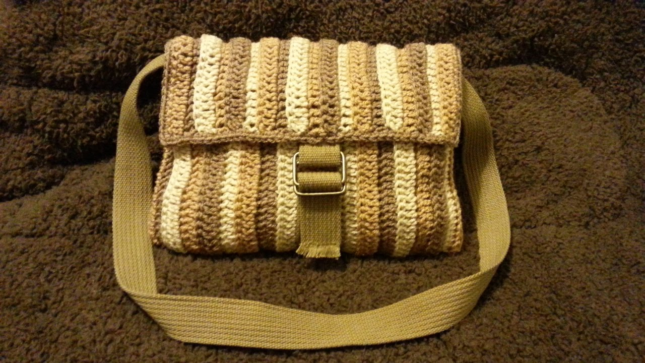 Crochet How To Crochet Shoulder Bag Purse Tutorial 202 Learn