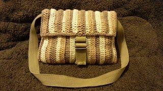 How to #Crochet Shoulder Bag purse #TUTORIAL #202