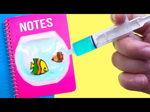 Thumbnail: DIY ANTI-STRESS SCHOOL SUPPLIES for Back to School 2017 | Easy & Cute