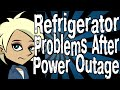 Refrigerator Problems After Power Outage