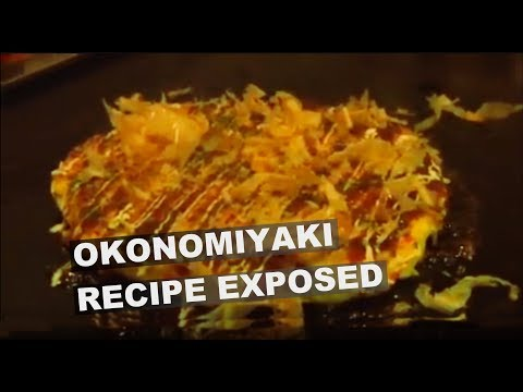 Osaka's secret recipe EXPOSED: okonomiyaki!