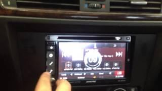 BMW 3 series e90 e92 Double Din 95-9306b 98-9306 Alpine INE-S920HD AL & EDS AUTOSOUND Beverly Hills