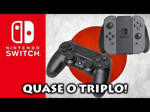 Nintendo Switch: Console Vende Quase O Triplo Que PS4 | Perception | Tabata Sobre FFXV | Ubisoft