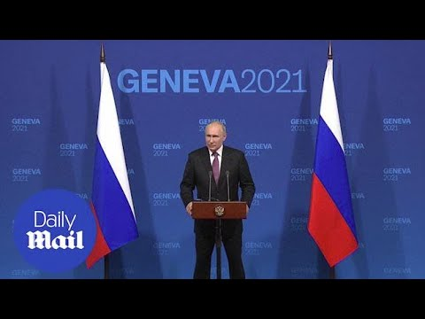 Putin slams violence in America, calls Biden 'experienced' after meeting with the US President