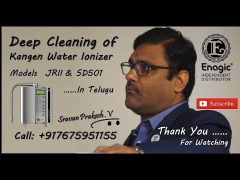 Deep Cleaning of Kangen Water Ionizers - Call +917675951155