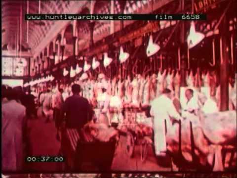 Smithfield Market, 1960's - Film 6658