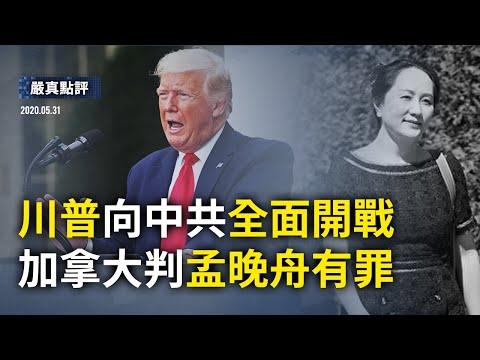 大陆新闻解毒654期_严真点评+外交部大实话:川普向中共开战,「间谍学者」遭遣返,中南海措手不及。