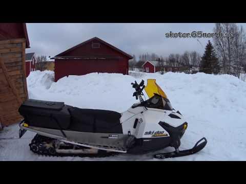 Skidoo Tundra 600 ACE LT 2016 Test Drive