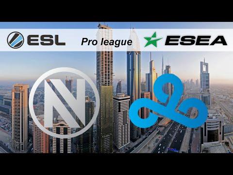 CS:GO EnVyUs vs Cloud9 (cobblestone) - ESL ESEA Pro League Dubai 2015