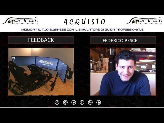 OPINIONE ACQUISTO SIMULATORE - FEDERICO PESCE - IMPRENDITORE TRASPORTI