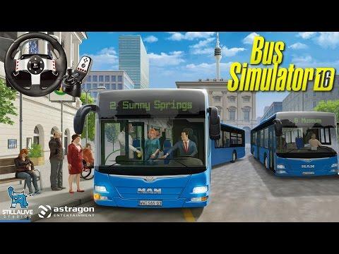 Logitech G27 ile Bus Simulator 2016 // Beklemeye Değdi Mi?