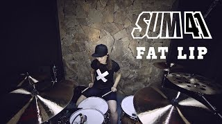 Sum 41 - Fat Lip (drum cover by Vicky Fates)