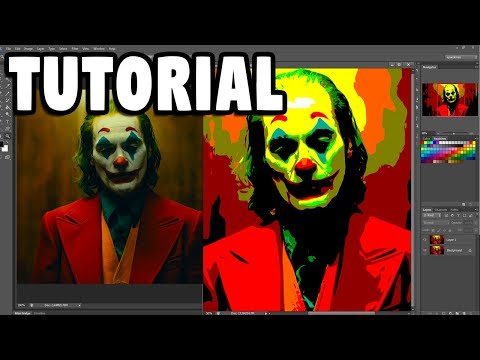 JOKER 2019 - ADOBE PHOTOSHOP tutorial thumbnail