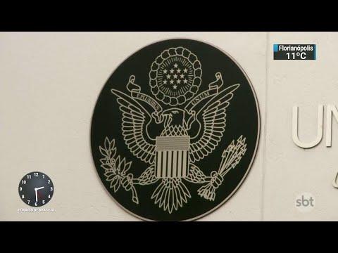 Polícia do RS investiga fraude no agendamento de vistos para os EUA | SBT Notícias (06/06/18)