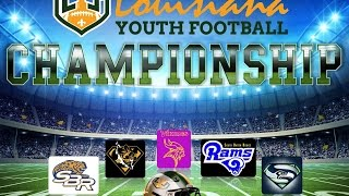 Day of champions: championship games for louisiana youth football