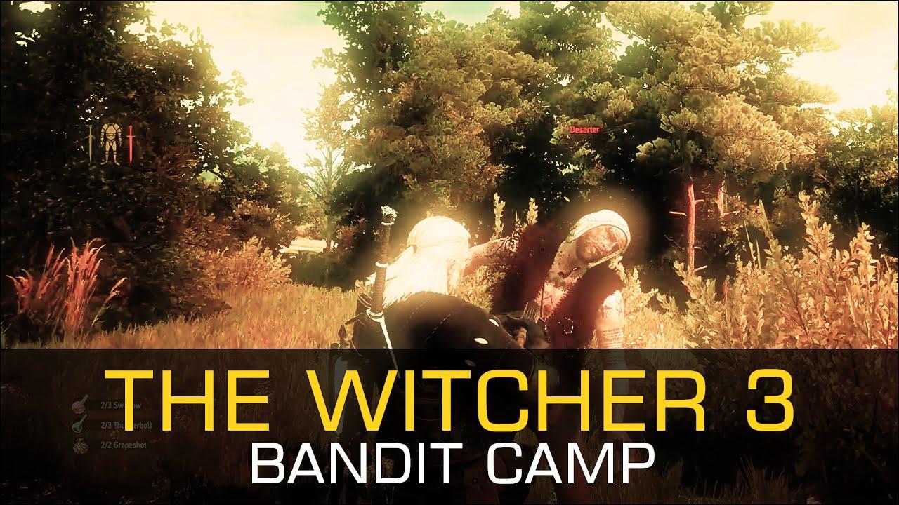 Bandit Camp DESERTERS ALGHOUL DECOCTION NOVIGRAD VELEN - The