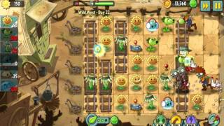 Plants vs. Zombies 2 Wild West - Day 22 [PC]