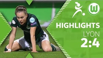 VfL Wolfsburg - Olympique Lyon 2:4 | Highlights | UEFA Women's Champions League