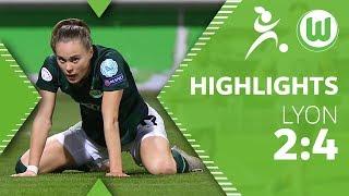 VfL Wolfsburg - Olympique Lyon 2:4 | Highlights | UEFA Women's Champions League