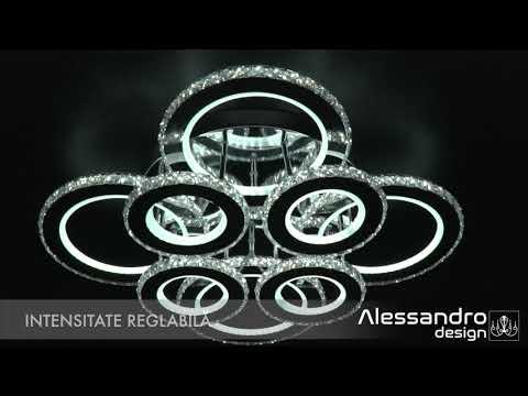 Aplice si plafoniere alessandro design. Aplica Led Alessandro Design Milly 2 24w 05 2313 Youtube