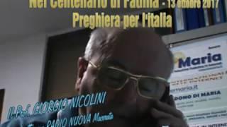 Centenario di Fatima - 13 ottobre 2017 - La Preghiera per l'Italia e l'Europa