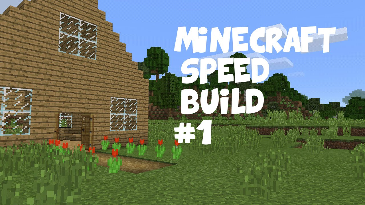 how to build a speed boat in minecraft pe