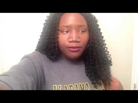 HAIR NOVELS Romance Curl Crochet Braids - YouTube